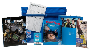 PADI Open Water Diver kit