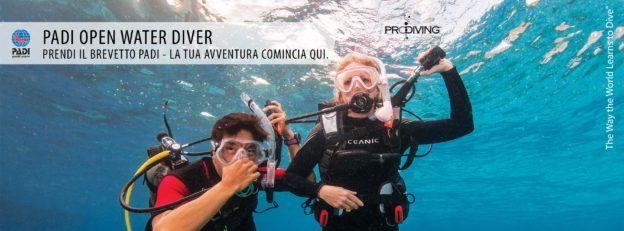 Corso Open Wather Diver
