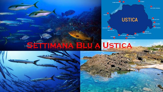 Settimana blu a Ustica dall'8 al 12 Luglio 2020